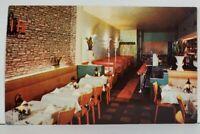 Erie Pa Coogo's Restaurant Interior View Peach St Postcard N1