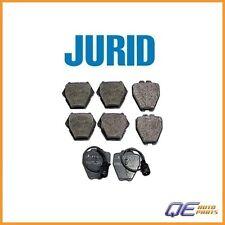 Front Audi A8 Quattro S8 2000 2001 2002 2003 Disc Brake Pad Jurid 4D0698151AC