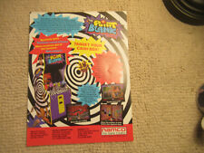 odd size 11- 8.5''  POINT BLANK NAMCO   ARCADE VIDEO GAME FLYER
