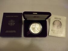 1987-S Proof American Silver Eagle Coin  - One Troy oz .999 Bullion