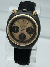 Vintage Citizen Bullhead Automatic Chronograph 67-9143 GN-4W-S Stainless Steel