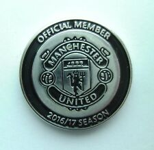 OFFICIAL Manchester United FC Enamel Pin Badge - MUFC Man Utd Memorabilia/Badges