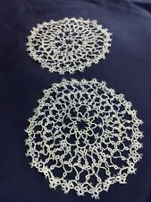 Tatted Doilies. 10