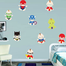 Avenger Super Baby Wall Sticker Nursery Baby Room Cartoon Wall Decal Removable
