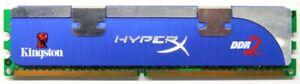 2GB Kit (2x1GB) Kingston Hyperx DDR2-800 PC2-6400U Khx6400d2llk2/2gn RAM Memory