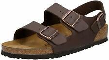 Birkenstock Milano Men's Dark Brown Sandals 44