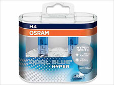 2x NEW OSRAM COOL BLUE HYPER H4 HB2 62193 CBH 5000K HEADLIGHTS FOG LIGHT GERMANY
