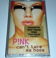 PINK SEALED TAPE CAN'T TAKE ME HOME Cassette Female Pop Singer Songwriter lp cd