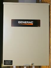 Generac RXSW100A3 100A SERVICE RATED TRANSFER SWITCH
