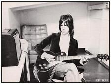 Jeff Beck * LARGE POSTER * Guitar Master - GIBSON Les Paul - 70's Image