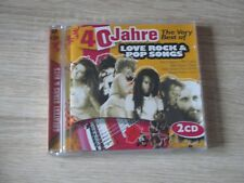 40 Jahre The very Best Of Love Rock & Pop Songs  2 CDs