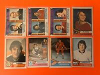 1974-75 O-Pee-Chee Vintage Hockey Card Set Singles U-Pick Great Condition #1-396