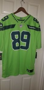Nike Seattle Seahawks #89 Doug Baldwin Color Rush Limited Jersey Men's 3XL