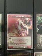 Chaotic Card Mugic Song Of Fury Rare