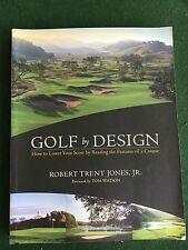 GOLF by DESIGN  by ROBERT TRENT JONES  SOFTCOVER  GOLF BOOK