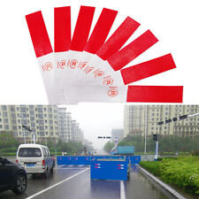 5X Red Reflective Safety Warning Conspicuity Tape Film Truck Van Car Sticker