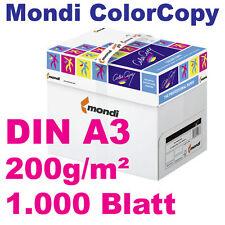 ColorCopy 200g DIN A3 1000 Blatt Mondi Neusiedler Druckerpapier weiß Color Copy