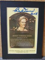 Robert Pershing Bobby Doerr & Enos Bradsher Slaughter Autographed Postcard