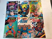 Various DC Titles Canadian Newsstand Editions Lot 33 books Superman Batman
