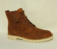 NEW MENS CLARKS ORIGINALS GUARD MALI TAN BROWN BLACK SUEDE LEATHER DESERT BOOTS