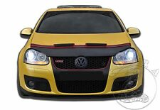 VW Volkswagen Golf 5 MK5 V Rabbit GTI 06 07 08 09 Car Hood Mask Bra + RED FELT