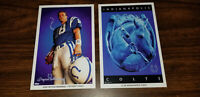 Peyton Manning Indianapolis Colts Lot of Mini Posters Promotional Items
