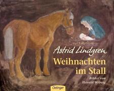 WEIHNACHTEN IM STALL  ►►►UNGELESEN ° Astrid Lindgren, Harald Wiberg ‹^^›‹(•¿•)›‹