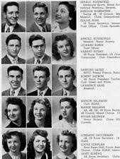 1945 Chicago Senn High School Yearbook~Photos~History~Football~Basketball~WWII++