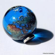 Neodym Magnet 22mm 'earth' Glaskugel Marmor Astronomie Planetarium