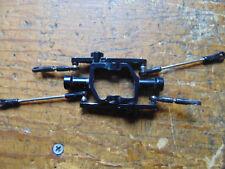 Trex 550/600 Negro Aleación Barra Estabilizadora Balancin C/W vínculos
