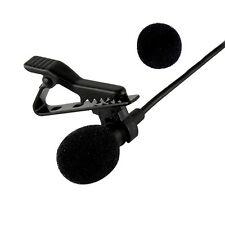 Neewer 3.5mm Handsfree Computer Clip Mini Tie Microphone For PC Skype