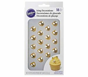 Wilton Bumblebee Icing Decorations, 18 Count (Pack of 1), Yellow
