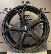"""Cerchi in lega Alfa Giulia Giulietta Stelvio Brera 159 da 18"""" NUOVI OFFERTA TOP"""