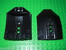 LEGO Black Cockpit 8x6x2 2 pieces NEW!!!