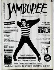 Elvis on JAMBOREE magazine cover 1996 ITALY Rock'n'Roll Nomadi