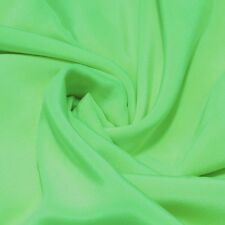 "0.5 yards 45"" wide 12mm crepe de chine silk dress fabric light green buy online"