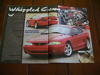 1995 MUSTANG COBRA  ***ORIGINAL ARTICLE***