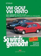 WERKSTATTHANDBUCH WARTUNG SO WIRD´S WIRDS GEMACHT 79 VW GOLF III 3 VENTO VARIANT