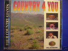 Country 4 You FARON YOUNG DON WILLIMAS FRANKIE LAINE