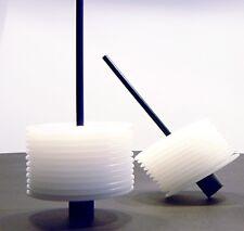 Glasuntersetzer transluzent gefrostet mit Halter   Artikel-Design