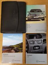 MERCEDES E-CLASS COUPE CABRIO C207 OWNERS MANUAL HANDBOOK 2009-2013 # H-325