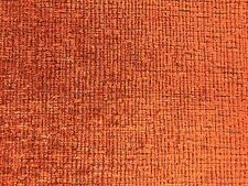 New listing Water & Stain Resistant Mid Century Modern Burnt Orange Chenille Uph Fabric