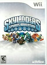 Skylanders Spyro's Adventure Nintendo Wii Game Only CHEAP PRICE FREE POST