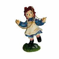 Vintage 2000 Raggedy Ann with Jumprope Figurine Hop Over Troubles ~ Retired