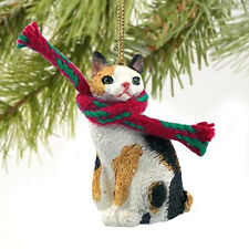 Conversation Concepts Tortoise & White Japanese Bobtail Original Ornament