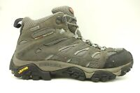 Merrell Grey Athletic Performance Hiking Trail Short Ankle Boots Women's 8