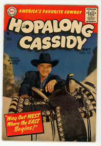 JERRY WEIST ESTATE: ALL STAR WESTERN #107 & HOPALONG CASSIDY #101 (FN) (DC 1955)
