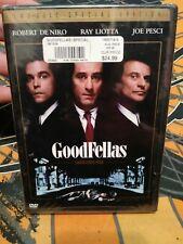 Goodfellas (Dvd, 2004, 2-Disc Special Ed) Robert DeNiro, Ray Liotta New Sealed