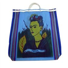 #940  6 Lot Tote Bag Frida Kahlo Recycled Mixed Grocery Market Mexico Wholesale