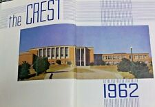 "%SSALE LYNCHBURG VA E.C. GLASS HIGH SCHOOL HILLTOPPERS 1962 ""THE CREST"" YEARBOOK"